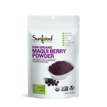Raw Organic Maqui Berry Powder | GNC