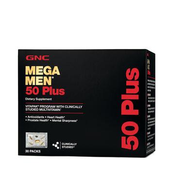 Mega Men® 50 Plus Vitapak® Program | GNC