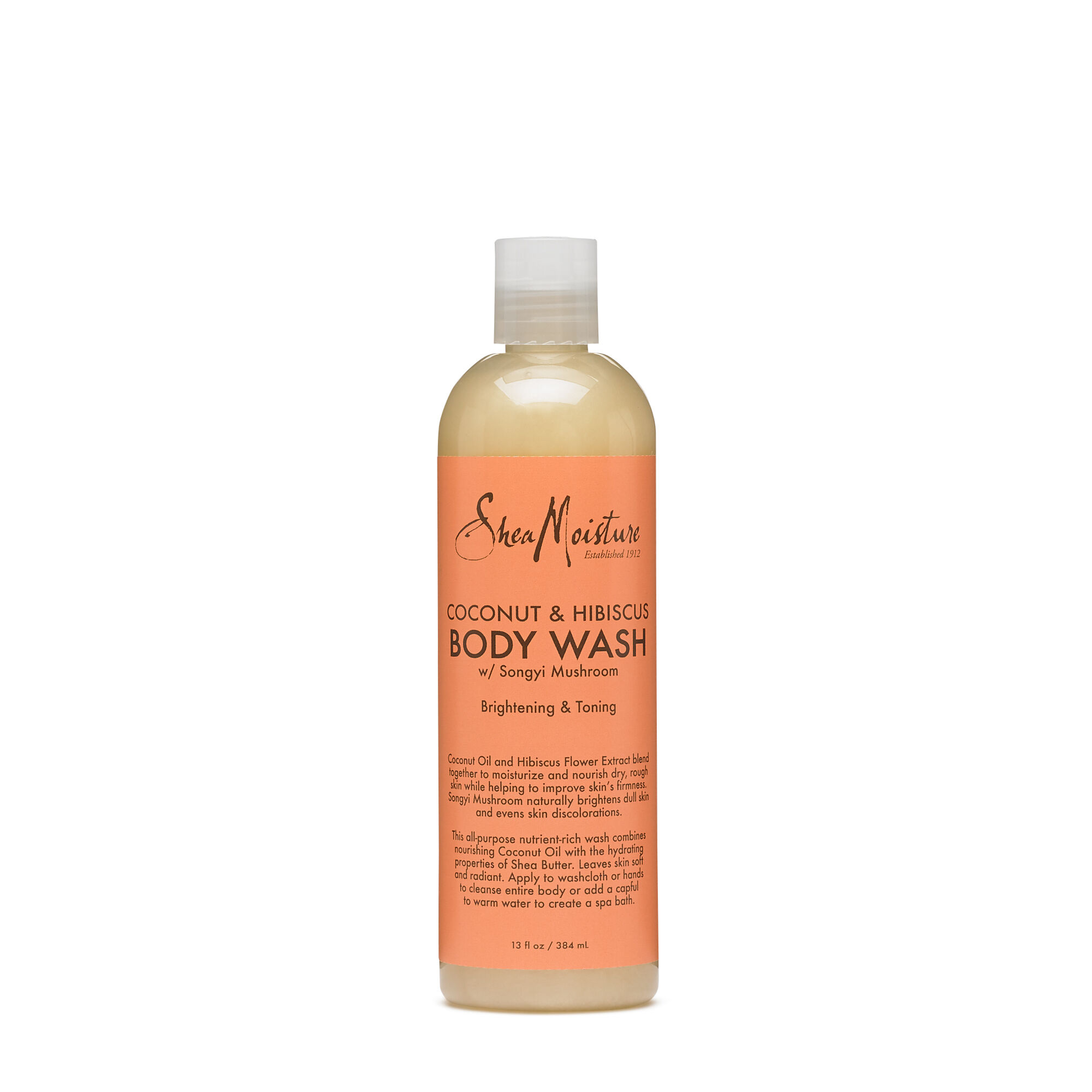 Shea Moisture Coconut Hibiscus Body Wash With Songyi Mushroom Gnc