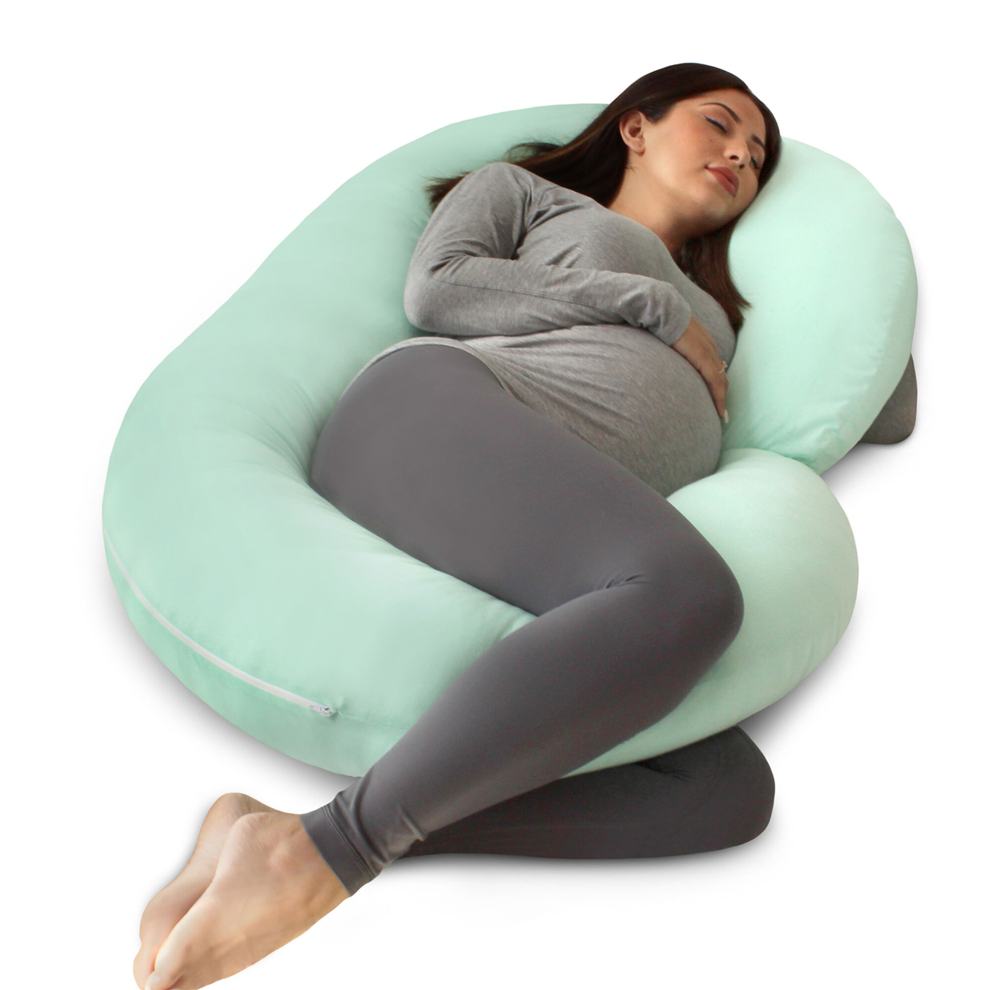 PHARMEDOC C-SHAPE PREGNANCY PILLOW