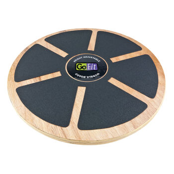 Round Adjustable Wobble Board with Training Manual | GNC