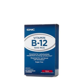 8c6c9da84 GNC Vitamin B-12 1000 MCG 60 Vegetarian Lozenges - Cherry | GNC