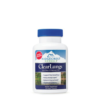 ClearLungs® Extra Strength | GNC