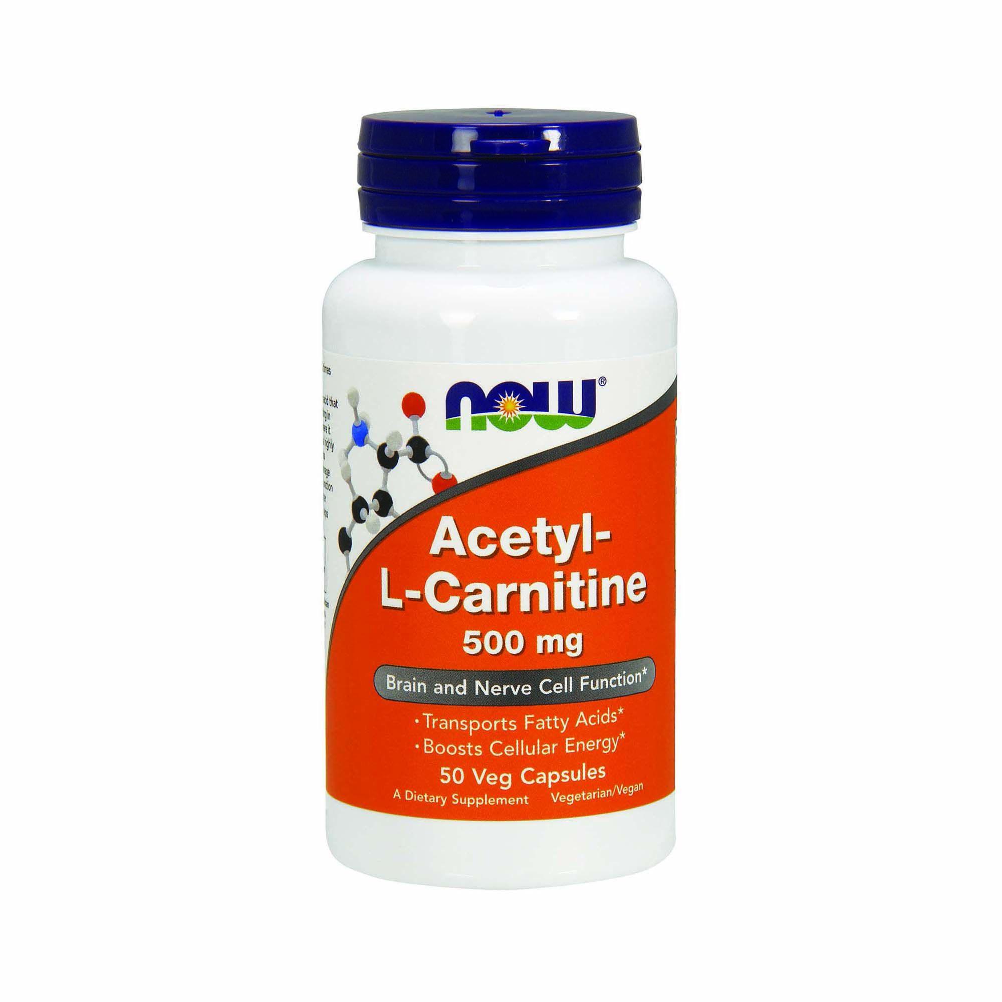 Now® Acetyl-L Carnitine-500 mg   GNC