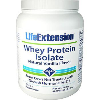 Whey Protein Isolate - Natural Vanilla Flavor | GNC