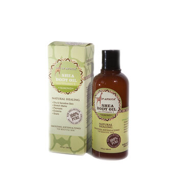 Shea Body Oil - Almond   GNC