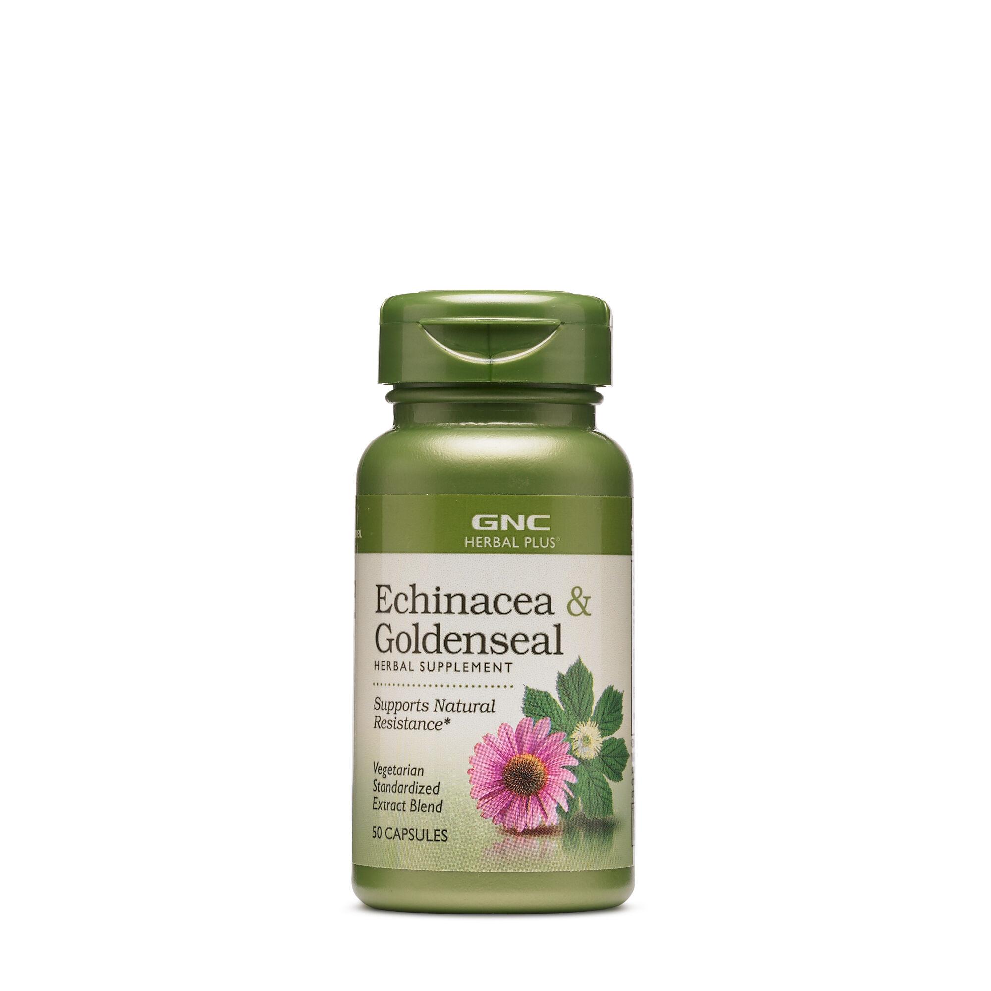 Gnc Herbal Plus Echinacea Goldenseal Gnc
