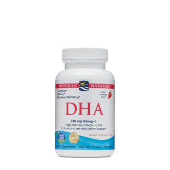 DHA from Purified Fish Oil- Strawberry | GNC
