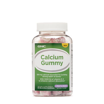 Calcium Gummy -  Fruit and Cream | GNC