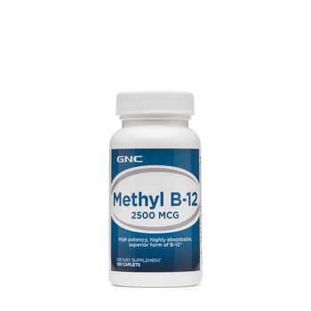 Methyl B-12 2500 MCG | GNC