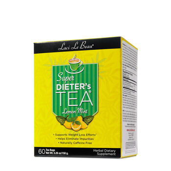 Super Dieter's Tea® - Lemon MintLemon Mint | GNC