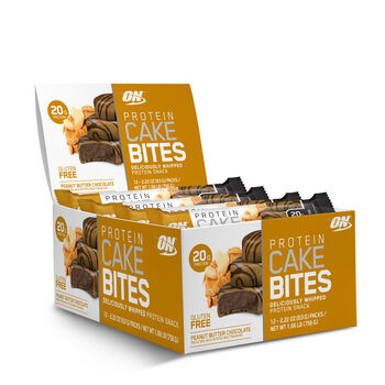 Protein Cake Bites - Peanut Butter Chocolate | GNC