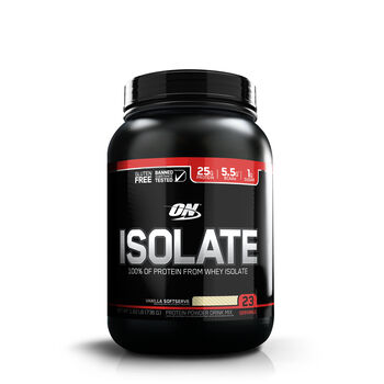 Isolate - Vanilla SoftserveVanilla Softserve | GNC