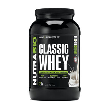Classic Whey Protien - UnflavoredUnflavored | GNC