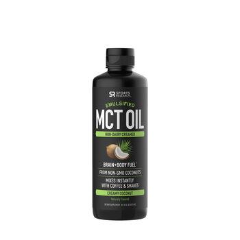 Emulsified MCT Oil - Creamy Coconut | GNC