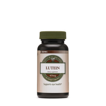 Natural Brand™ Lutein - 40mg | GNC