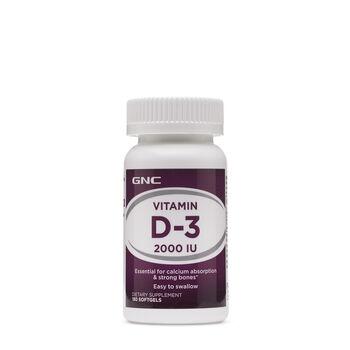 Vitamin D-3 2000 IU   GNC