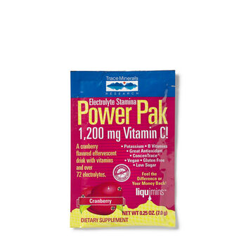 Electrolyte Stamina Power Pak 1,200 mg Vitamin C! -CranberryCranberry | GNC