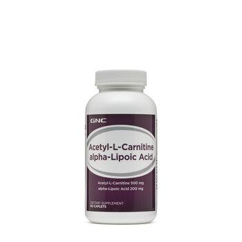 Acetyl-L-Carnitine alpha-Lipoic Acid | GNC