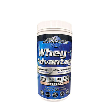 Whey Advantage - ChocolateChocolate | GNC