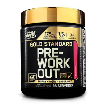 Gold Standard Pre-Workout™ - Watermelon - Exclusive 20% More Free Bonus SizeWatermelon | GNC