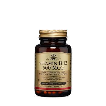 Vitamin B12 500 MCG | GNC