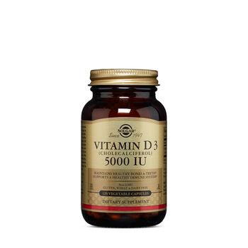 Vitamin D3 (Cholecalciferol) 125 MCG (5000 IU) | GNC