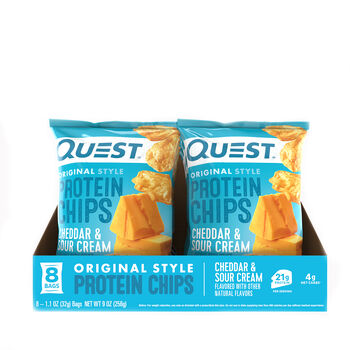 Protein Chips - Cheddar and Sour CreamCheddar and Sour Cream | GNC