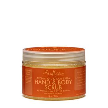 Argan Oil & Raw Shea Softening Hand & Body Scrub | GNC
