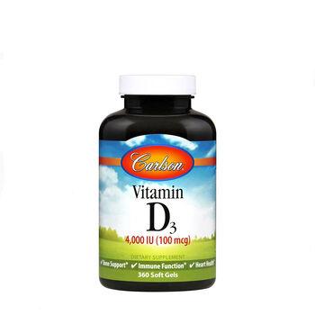 Vitamin D3 - 4000 IU   GNC