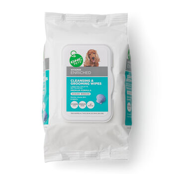 Cleansing & Grooming Wipes- Ocean Breeze | GNC