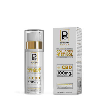 Collagen + Retinol with Pure CBD Isolate | GNC