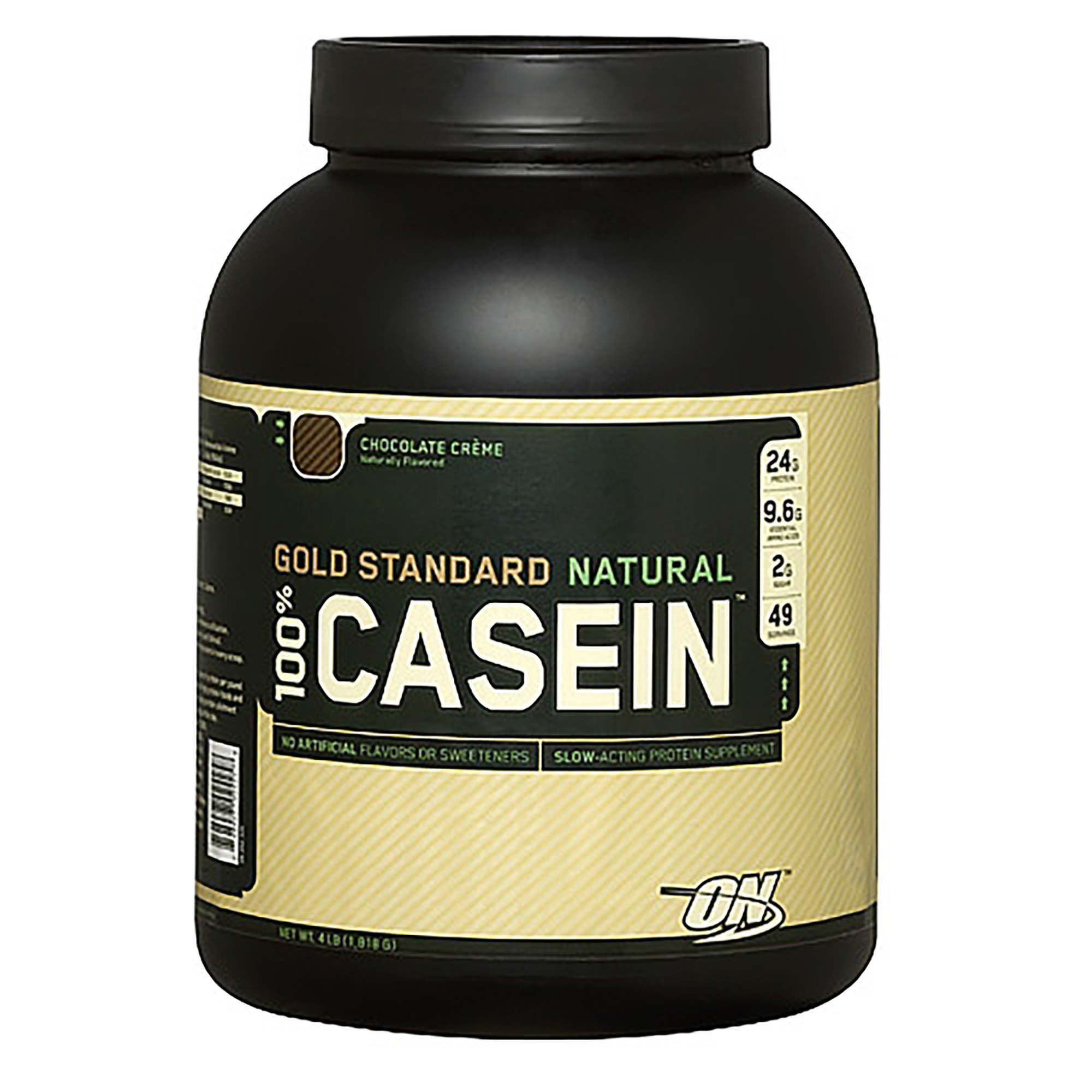 Gold Standard Trade Natural 100 Casein Chocolate Cremechocolate Creme Gnc