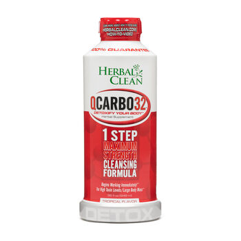 Herbal Clean Qcarbo32 Tropical Flavor Gnc
