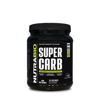 Super Carb - Raw Unflavored | GNC