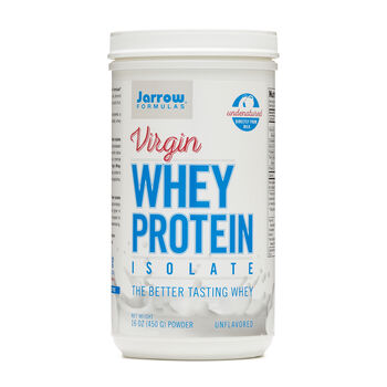Virgin Whey Protein Isolate - UnflavoredUnflavored | GNC
