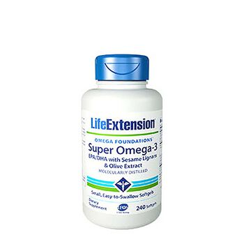 Super Omega-3 EPA-DHA with Sesame Lignans & Olive Extract | GNC