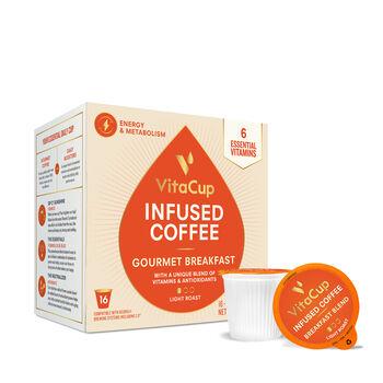 Vitamin Infused Coffee Pods - Gourmet Breakfast Blend | GNC