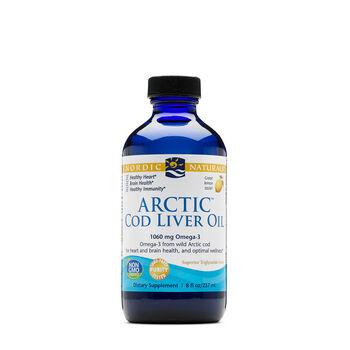 Arctic Cod Liver Oil - LemonLemon | GNC