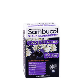 Black Elderberry Cold and Flu Relief | GNC