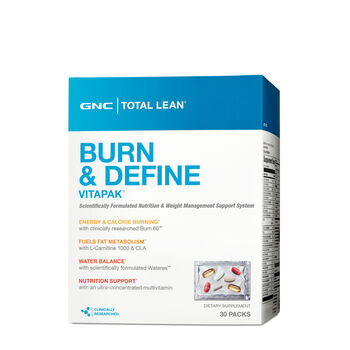Burn and Define Vitapak® | GNC