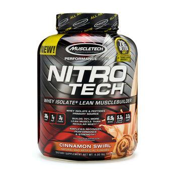 Nitro-Tech™ - Cinnamon SwirlCinnamon Swirl | GNC