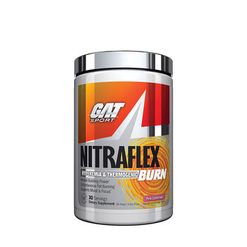 GAT™ Sport NTRAFLEX® BURN - Pink Lemonade: 30 Servings | GNC