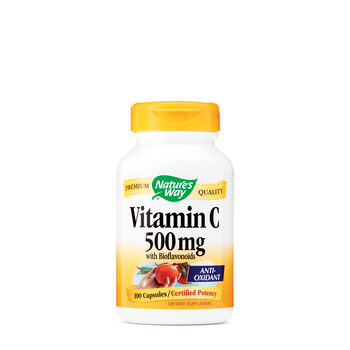 Vitamin C 500 mg with Bioflavinoids | GNC