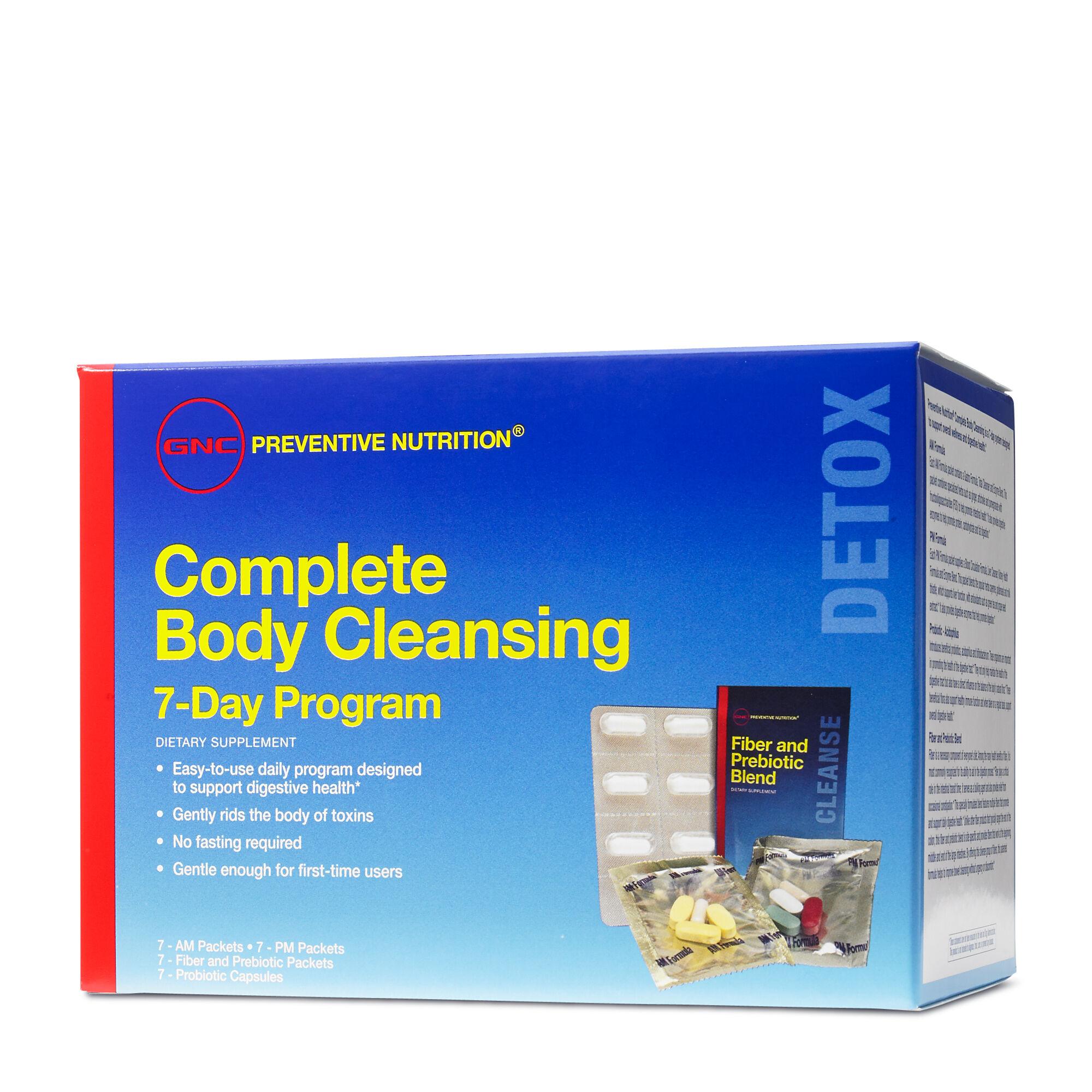 GNC Preventive Nutrition® Complete Body Cleansing Program