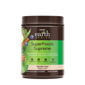 GNC Earth Genius™ SuperFoods Supreme - Vanilla Chai