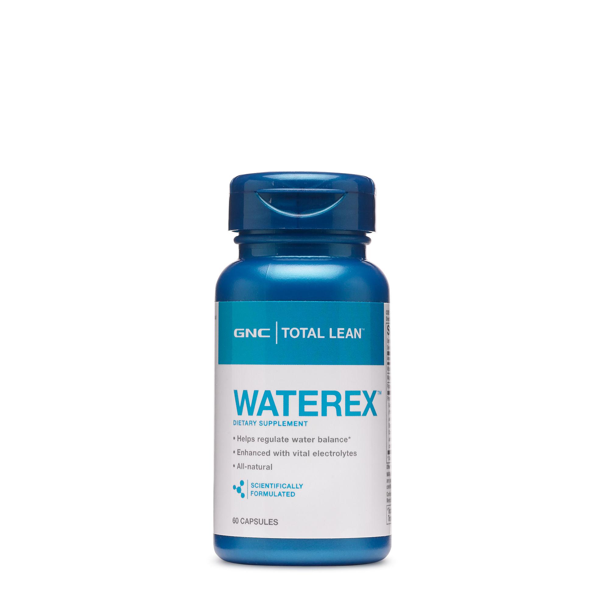 Gnc Total Lean Waterex Dietary Supplement 60 Ct Gnc