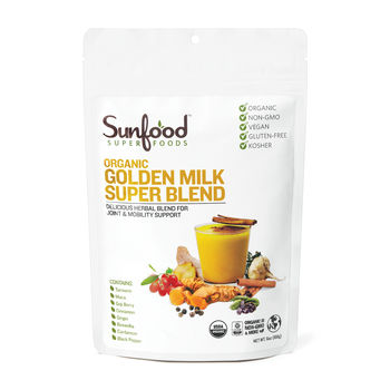 Sunfood™ Super Foods Organic Golden Milk Super Blend