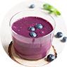 Blueberry Protein Shake with Whey Protein Recipe
