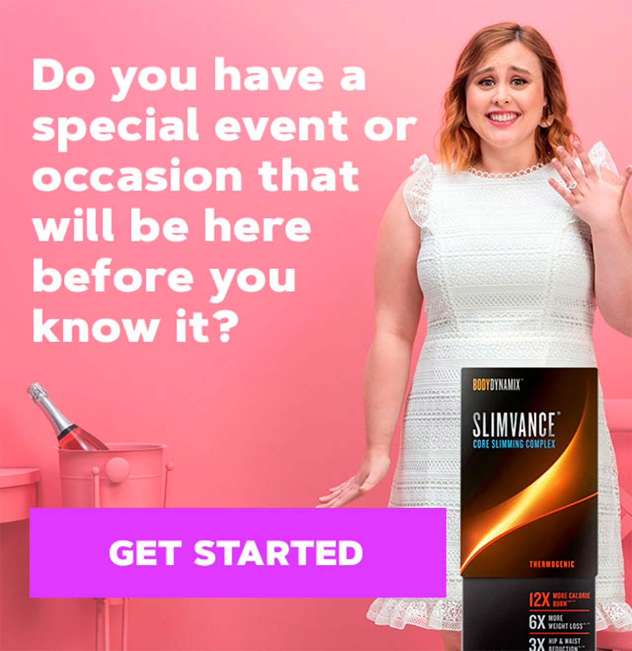 Do you have a special event or occasion that will be here before you know it? GET STARTED